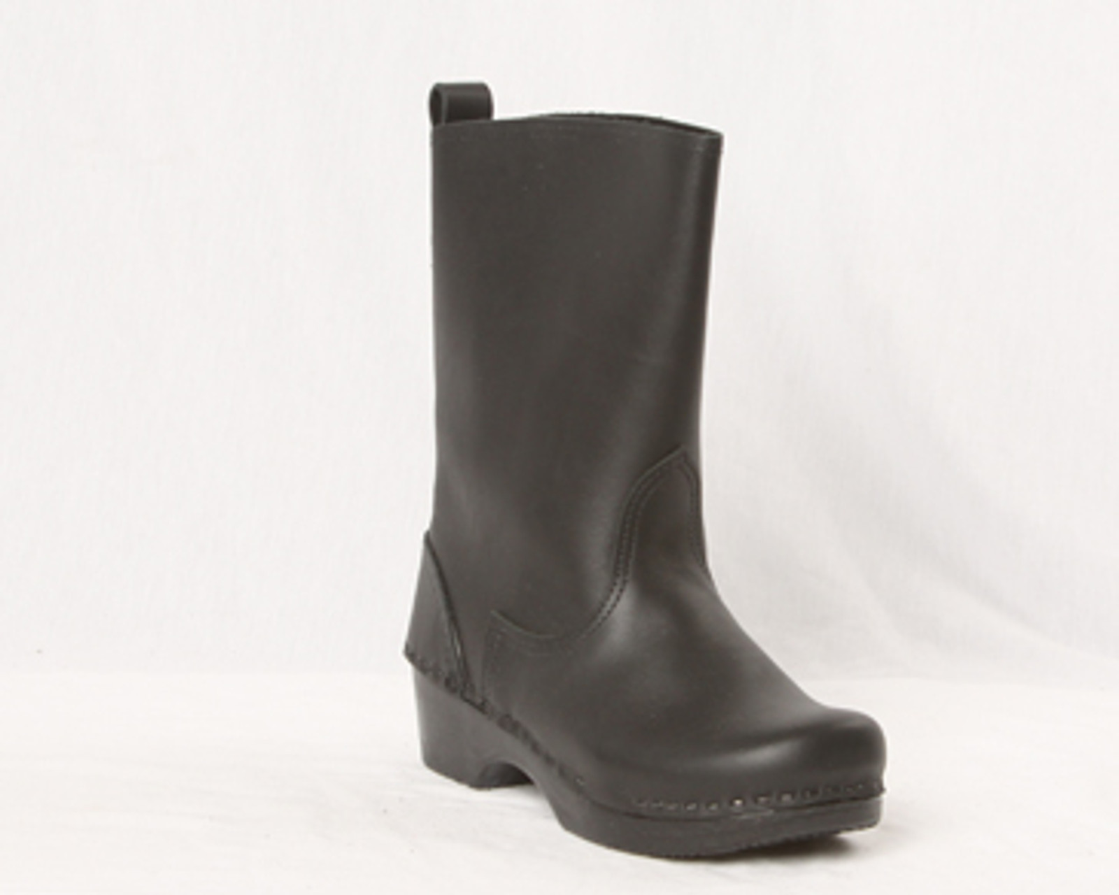 """Men's -  8"""" Leather Clog Boots"""