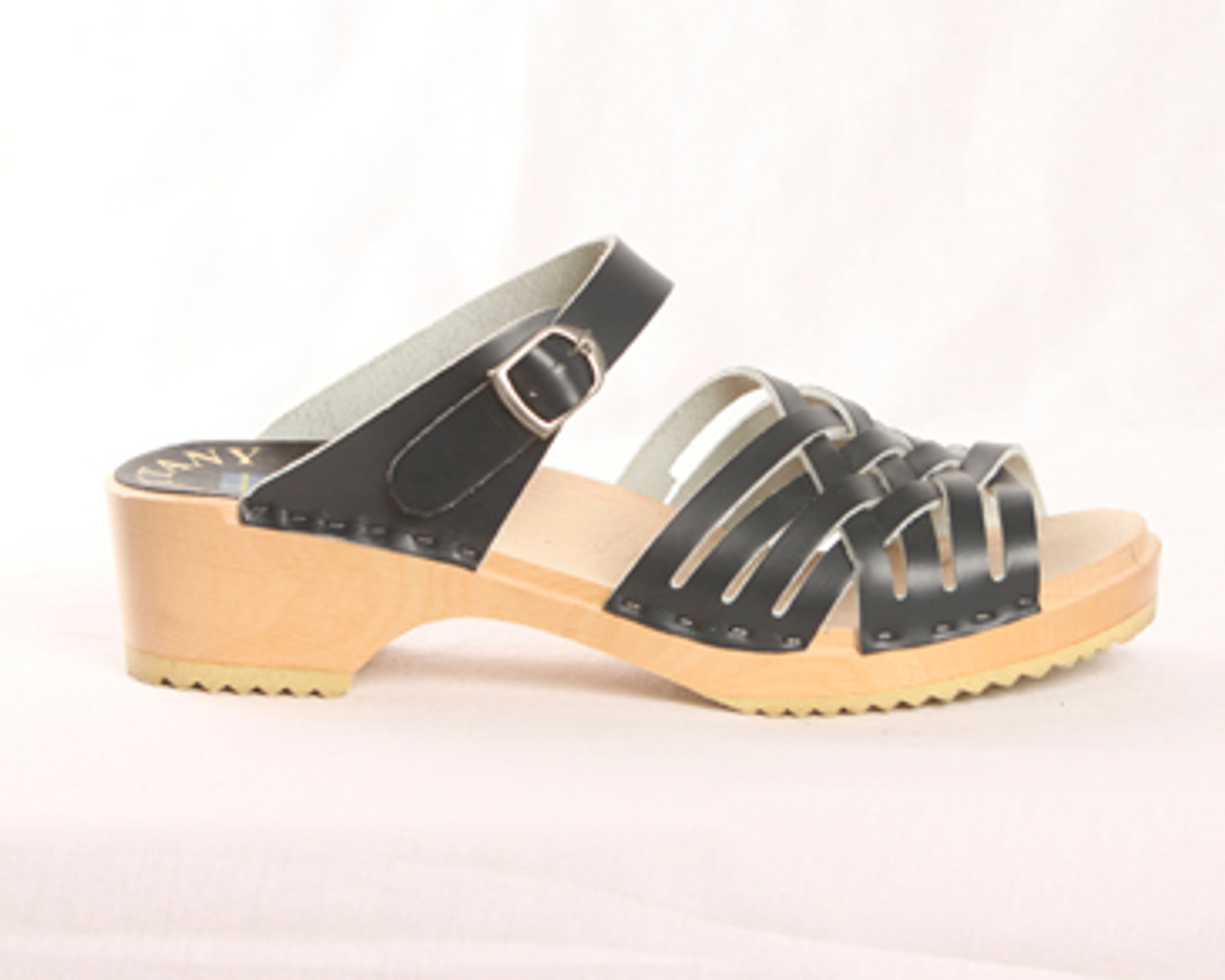 Small Weave Sandal Clog - Front Straps
