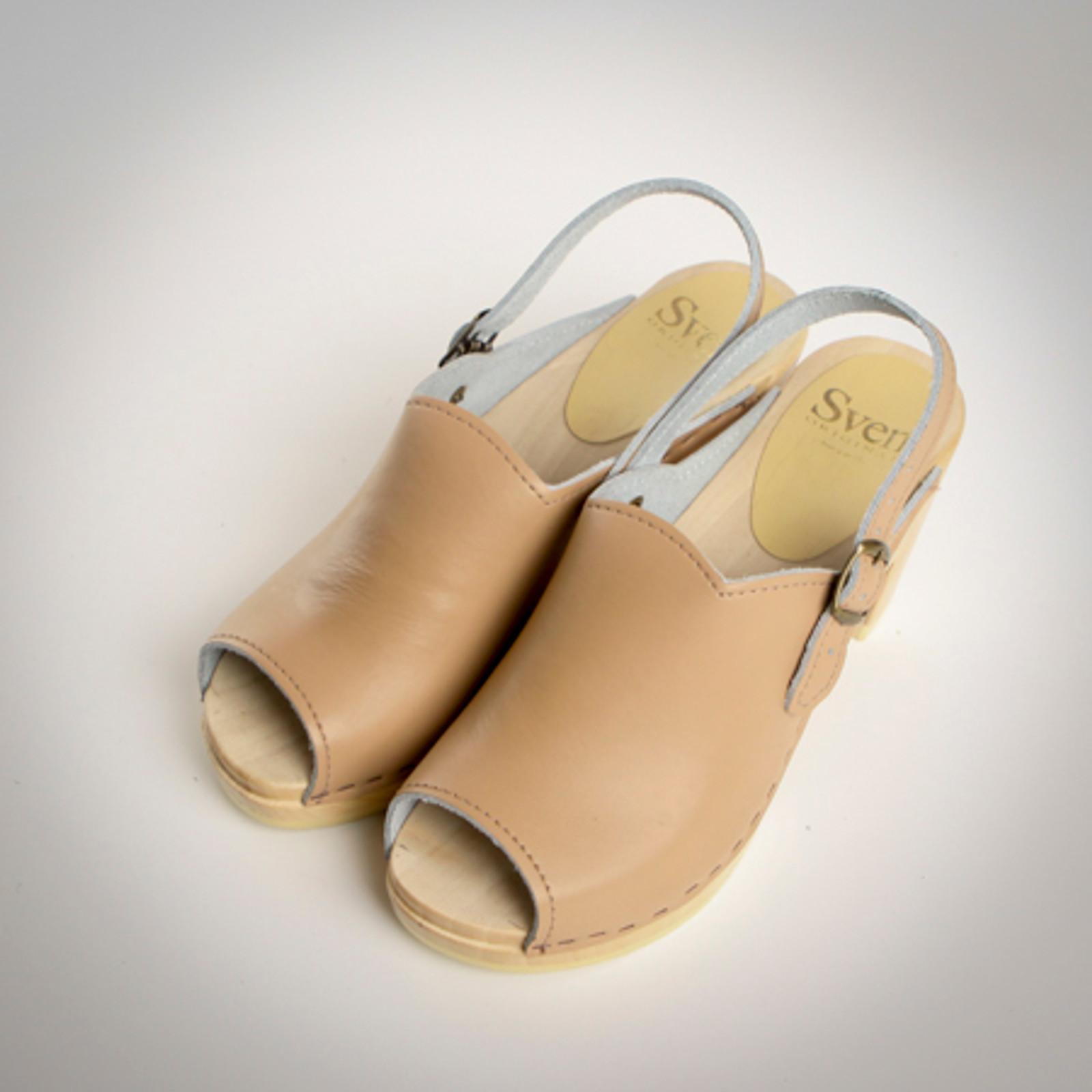Open Toe Clogs - Sling Straps
