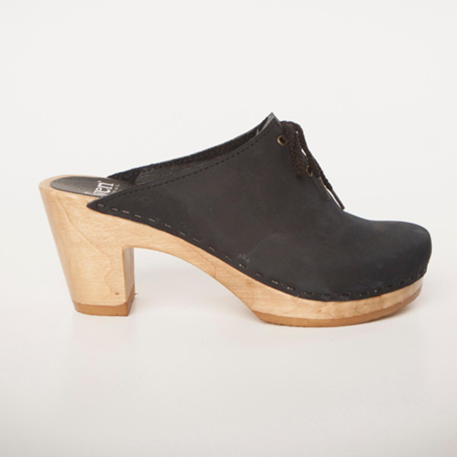 Tie Clogs - High Heels