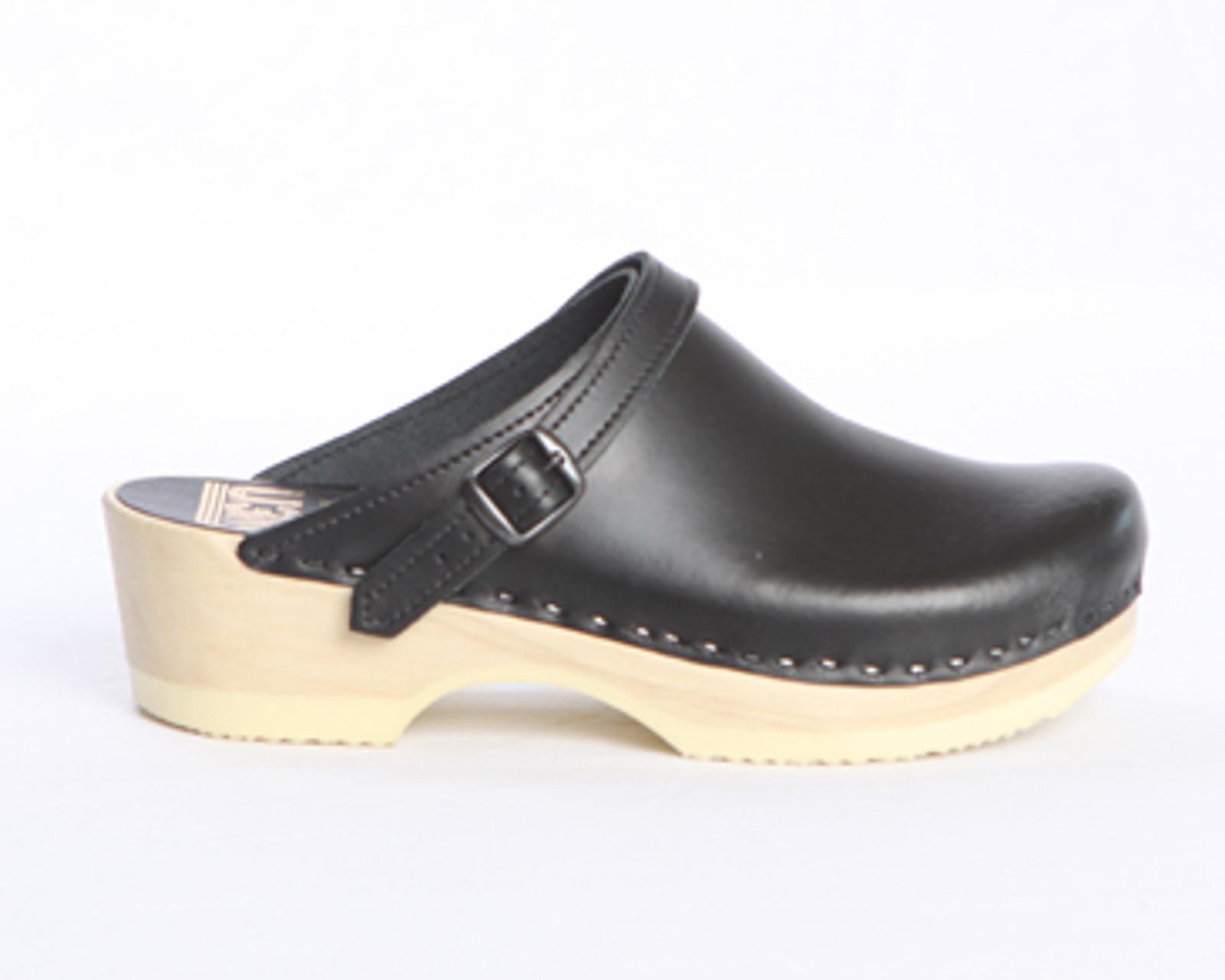 Sling Strap Clogs - Low Heels