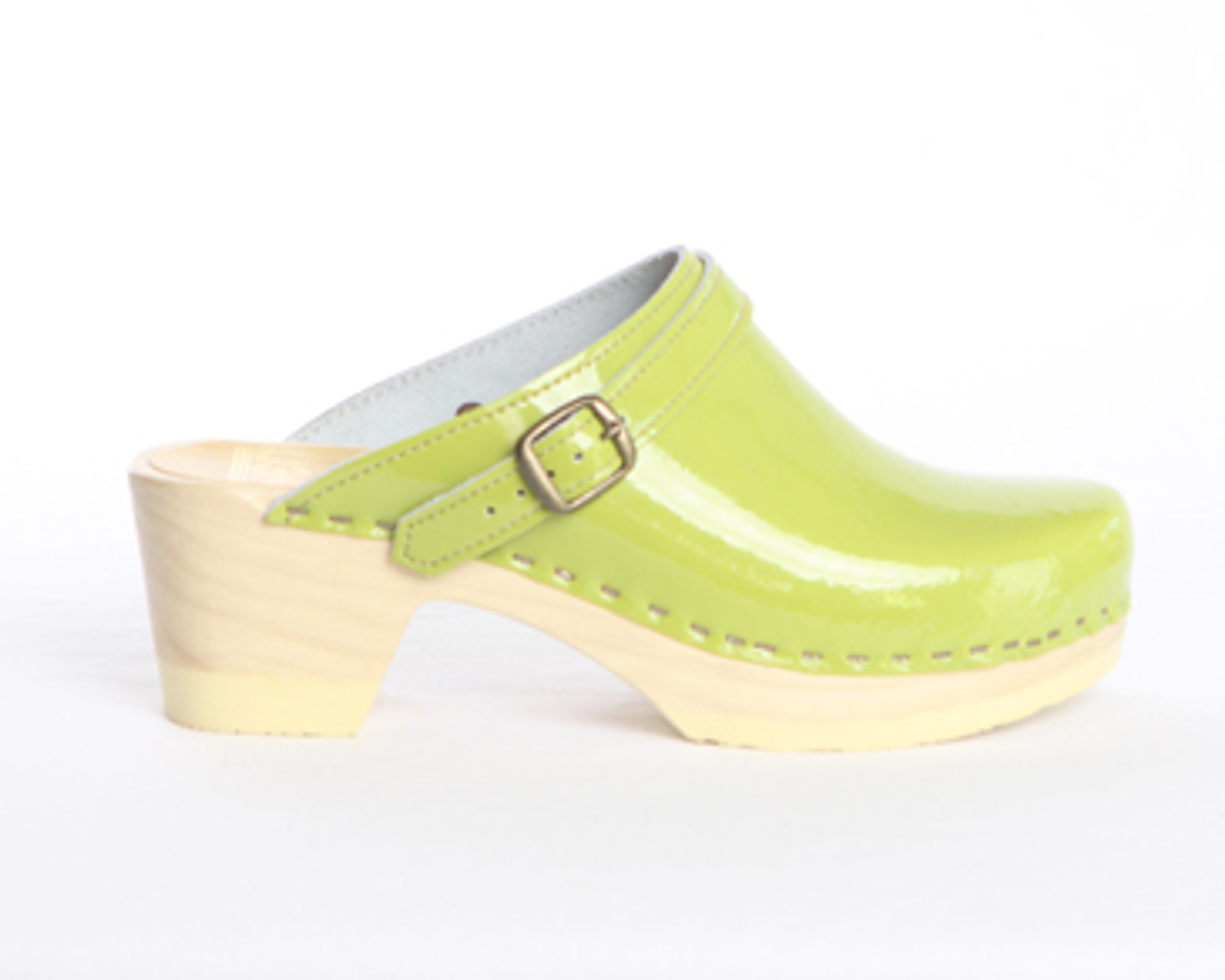 Sling Strap Clogs - Mid Heels