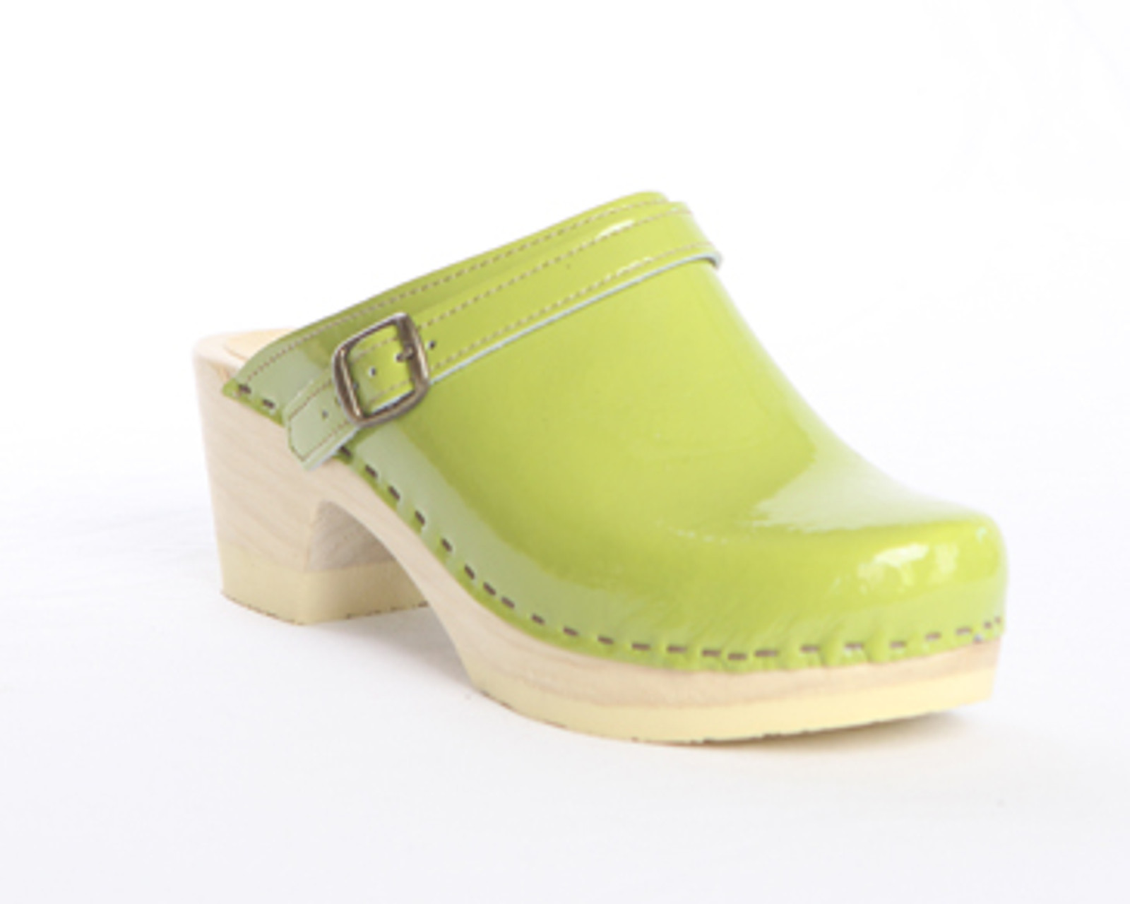 Sling Strap Clogs - Bendable Mid Heels