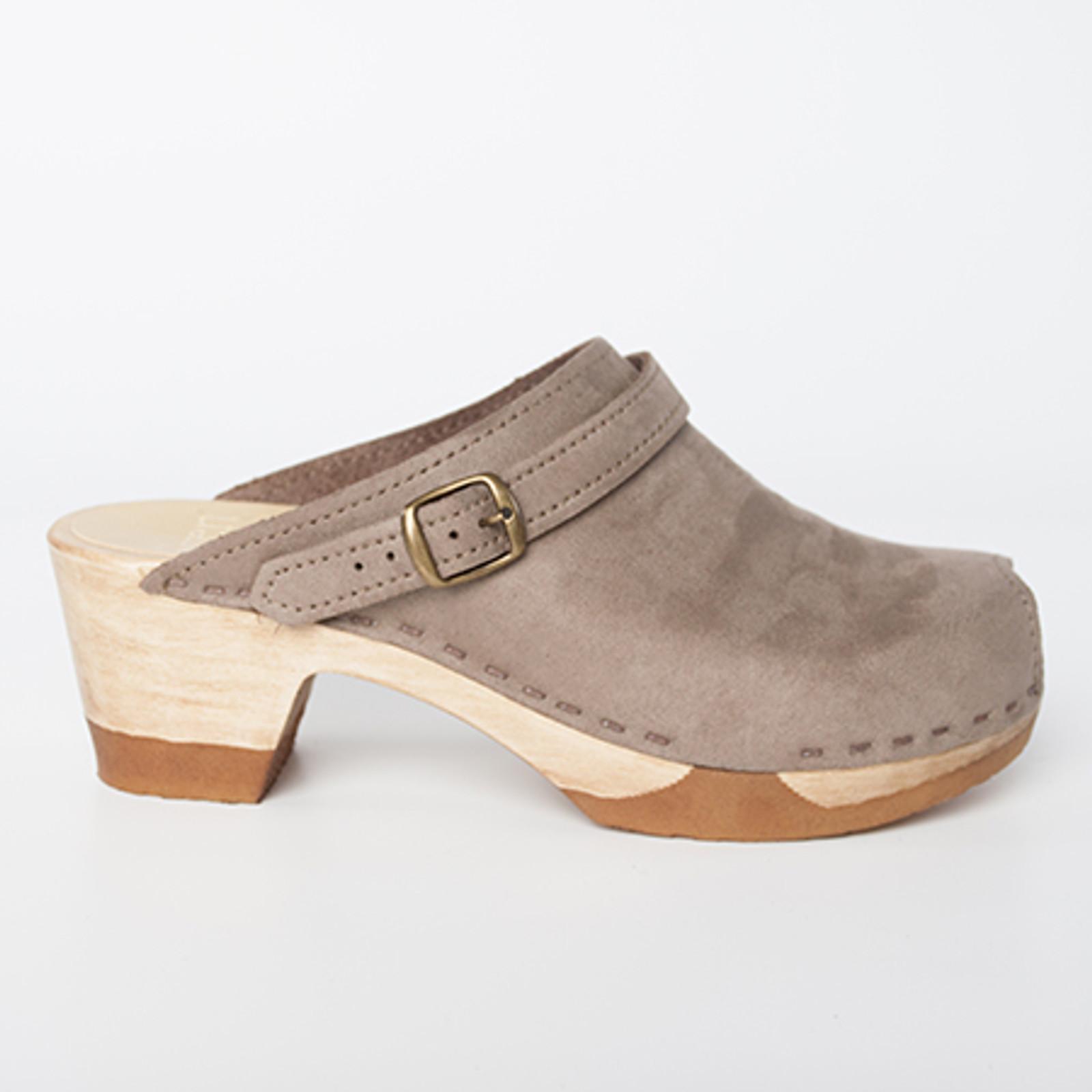 Peep Toe with Sling - Bendable Mid Heels