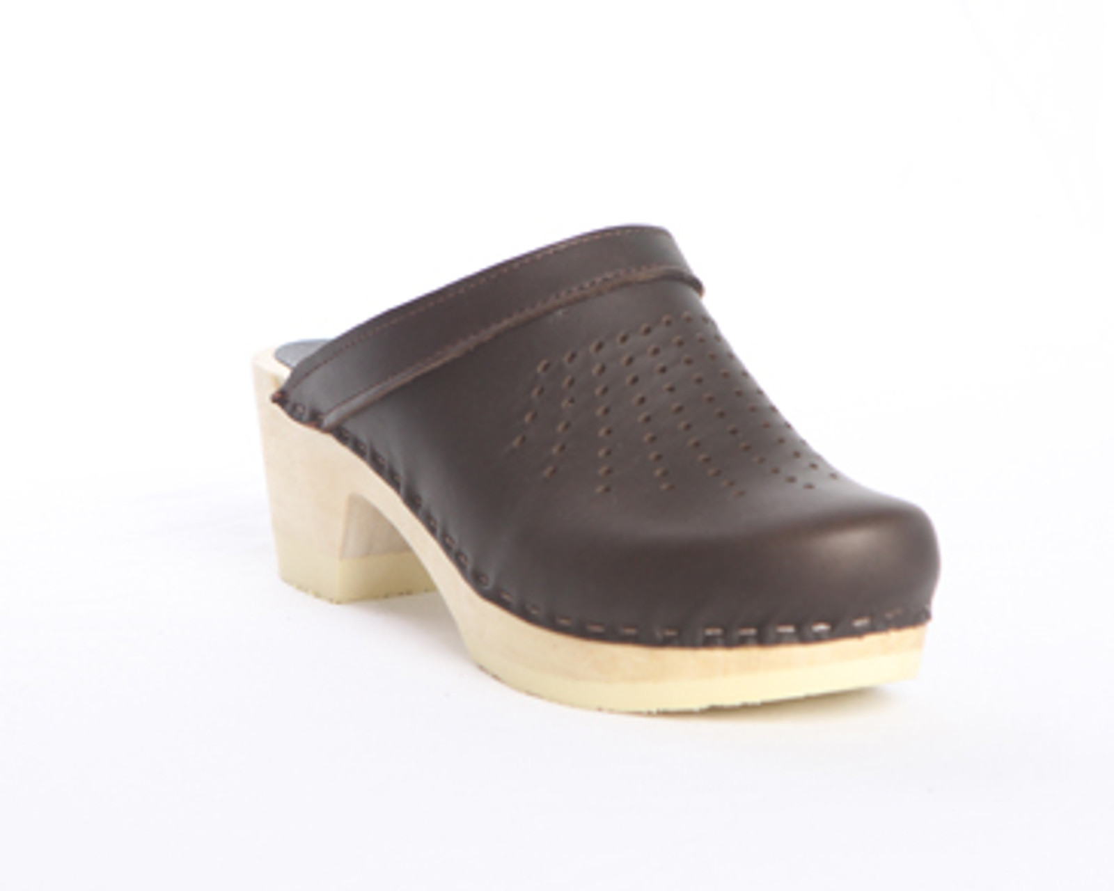 Spray Punch Clogs  - Bendable Mid Heels
