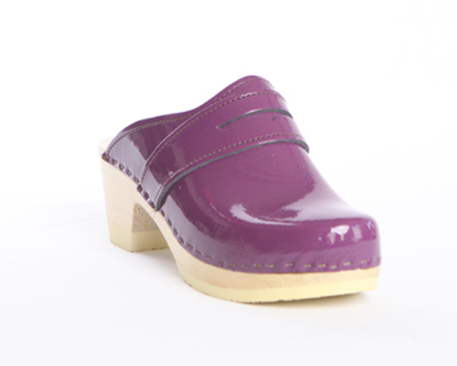 Penny Loafer Clogs - Bendable Mid Heels