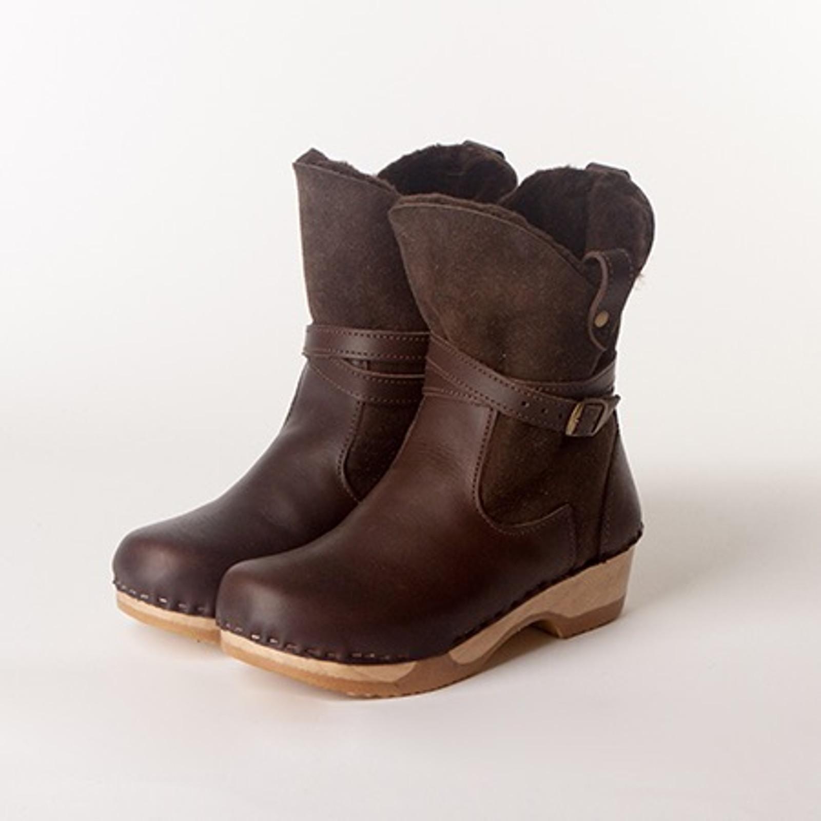Lucy Booties - Bendable Low Heels