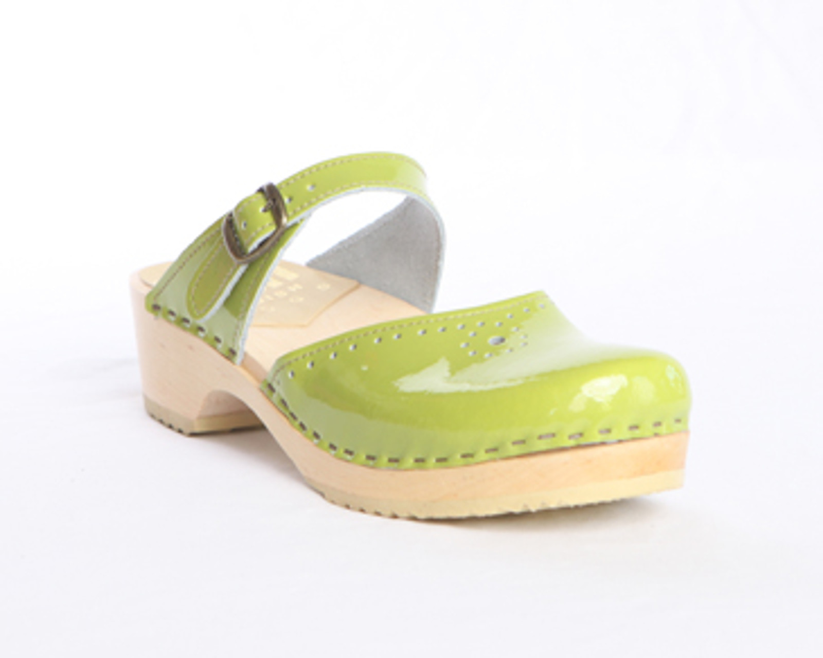 Lime Patent with Natural Base