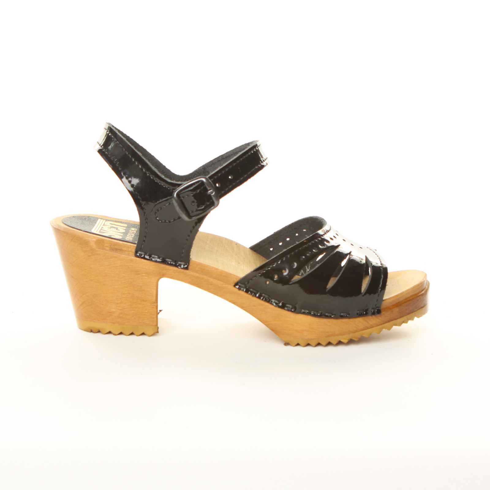 Lacy Clogs - Mid Heels
