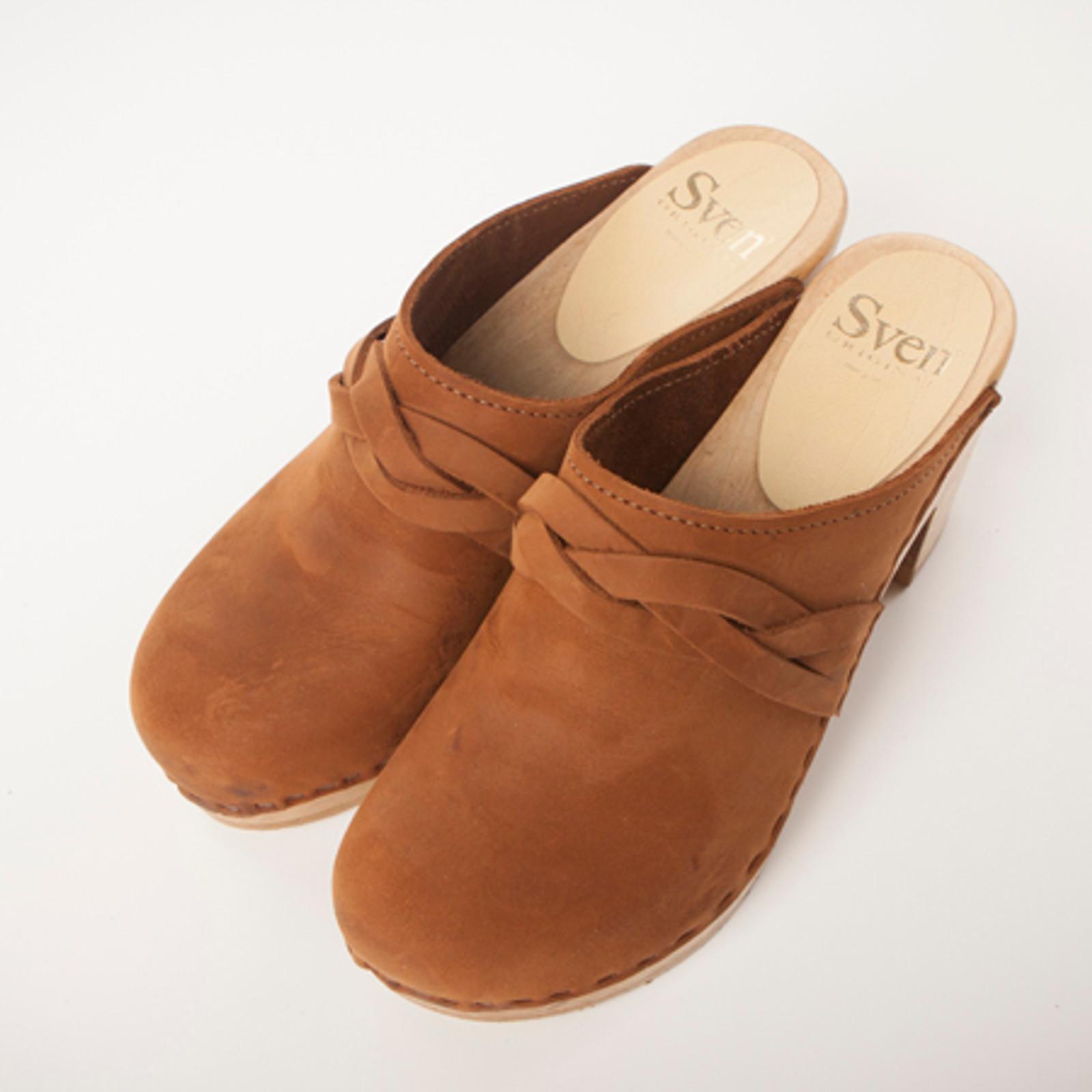 """Braid Strap Clog - 3"""" High Heels"""
