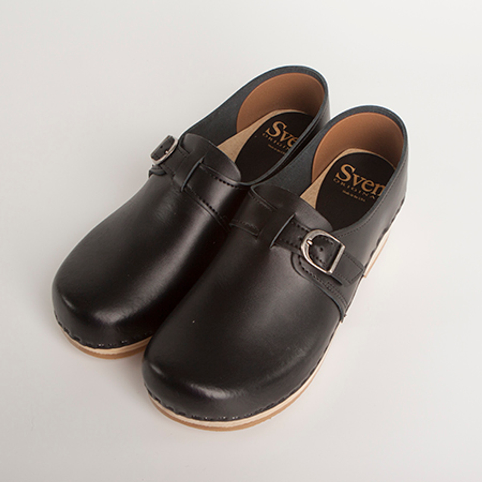 Closed Back Clogs - with Adjustable Buckle