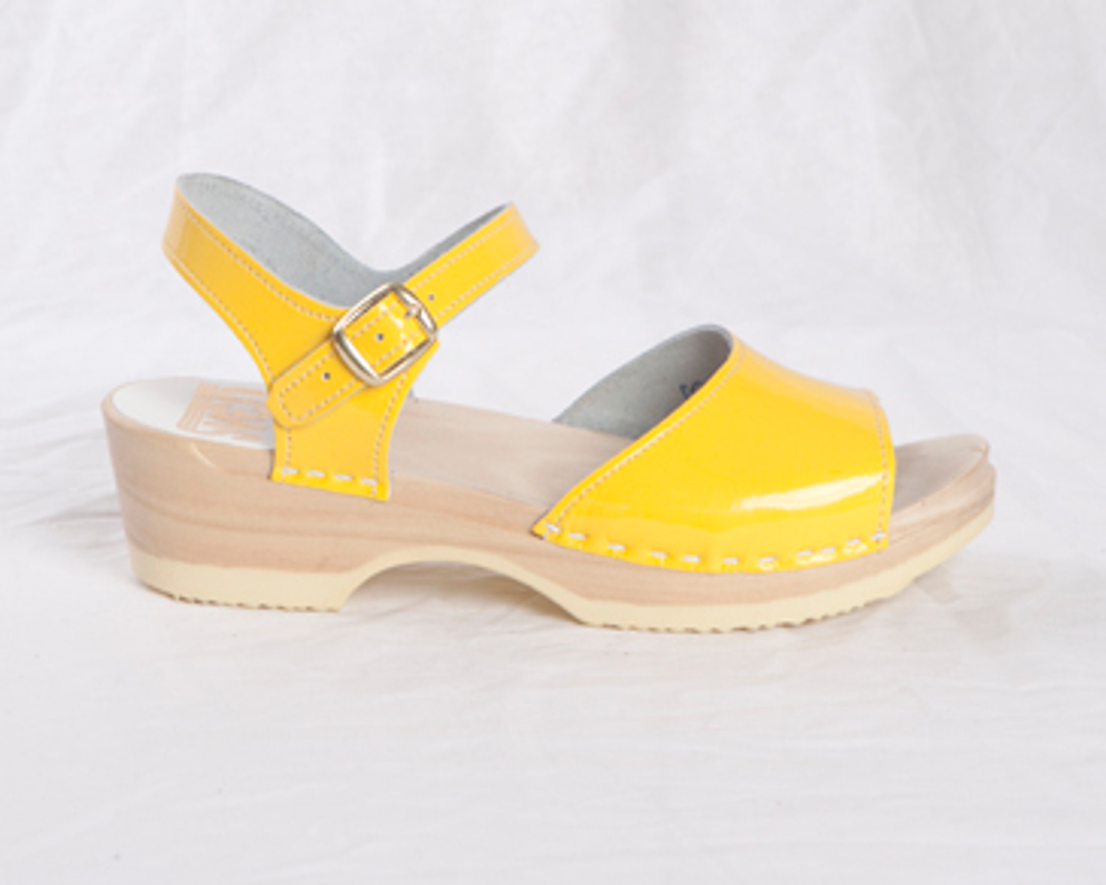 Yellow Patent with Natural Base