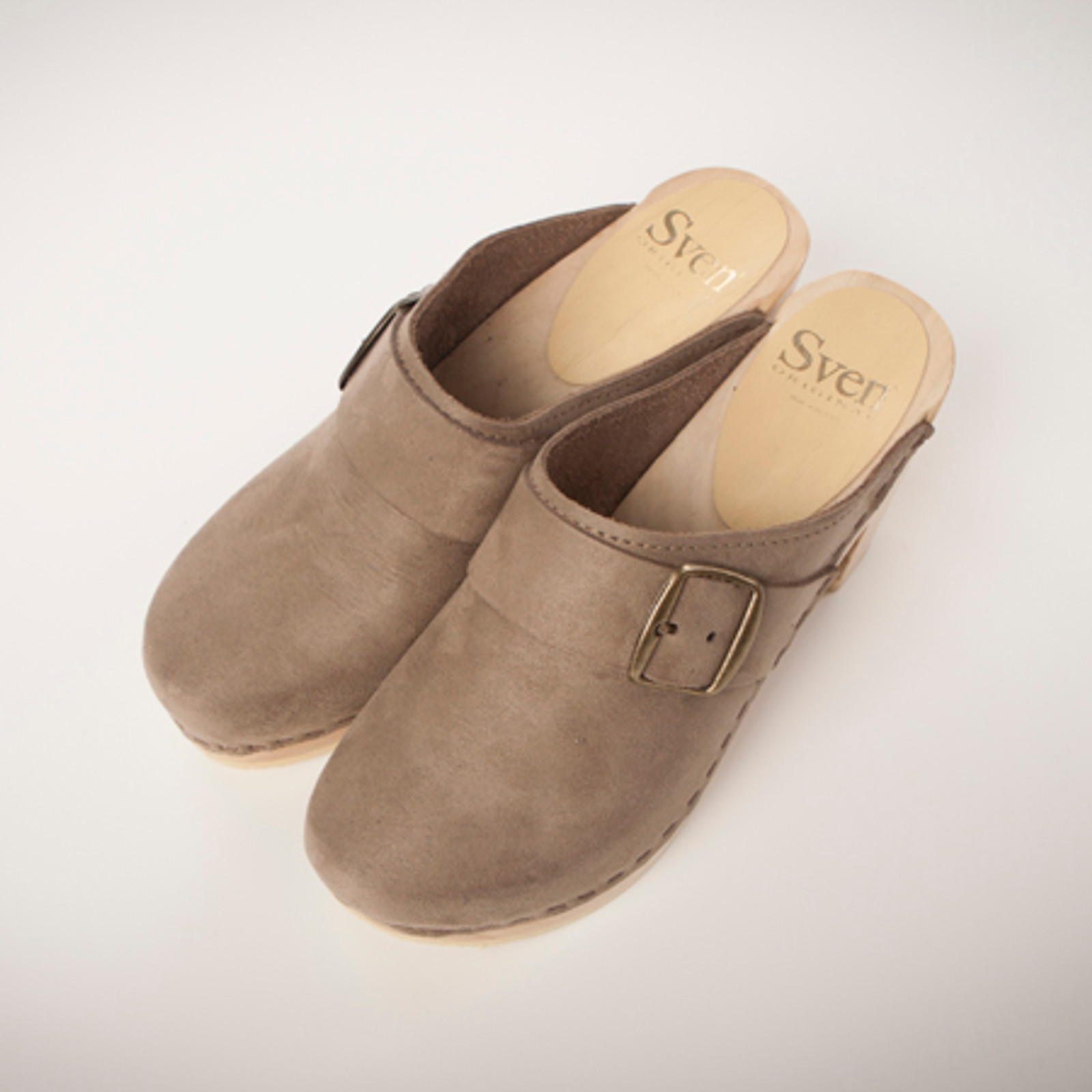 Stone Suede with Natural Base