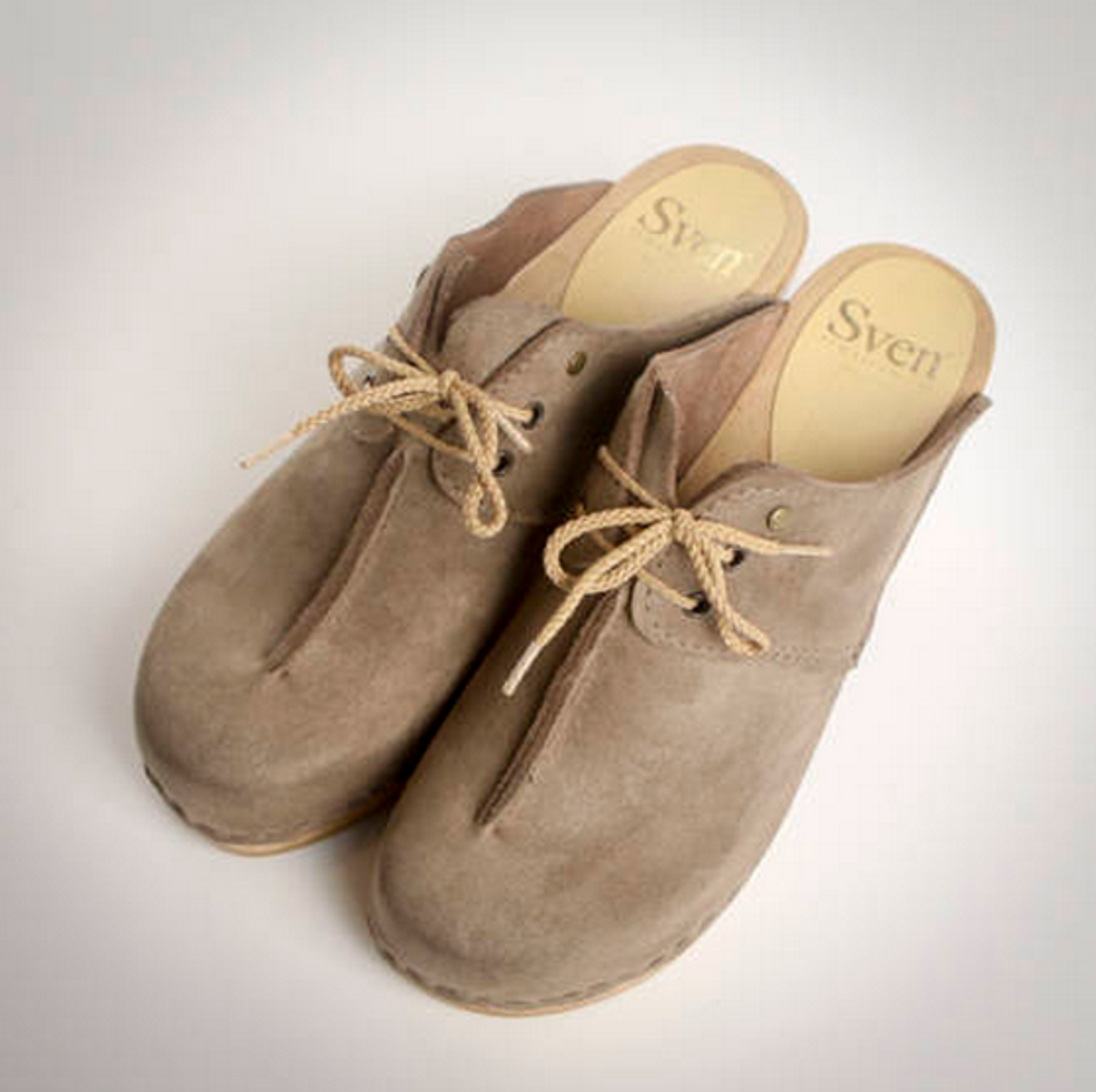 Front Seam - Tie Clogs - Closed Toes
