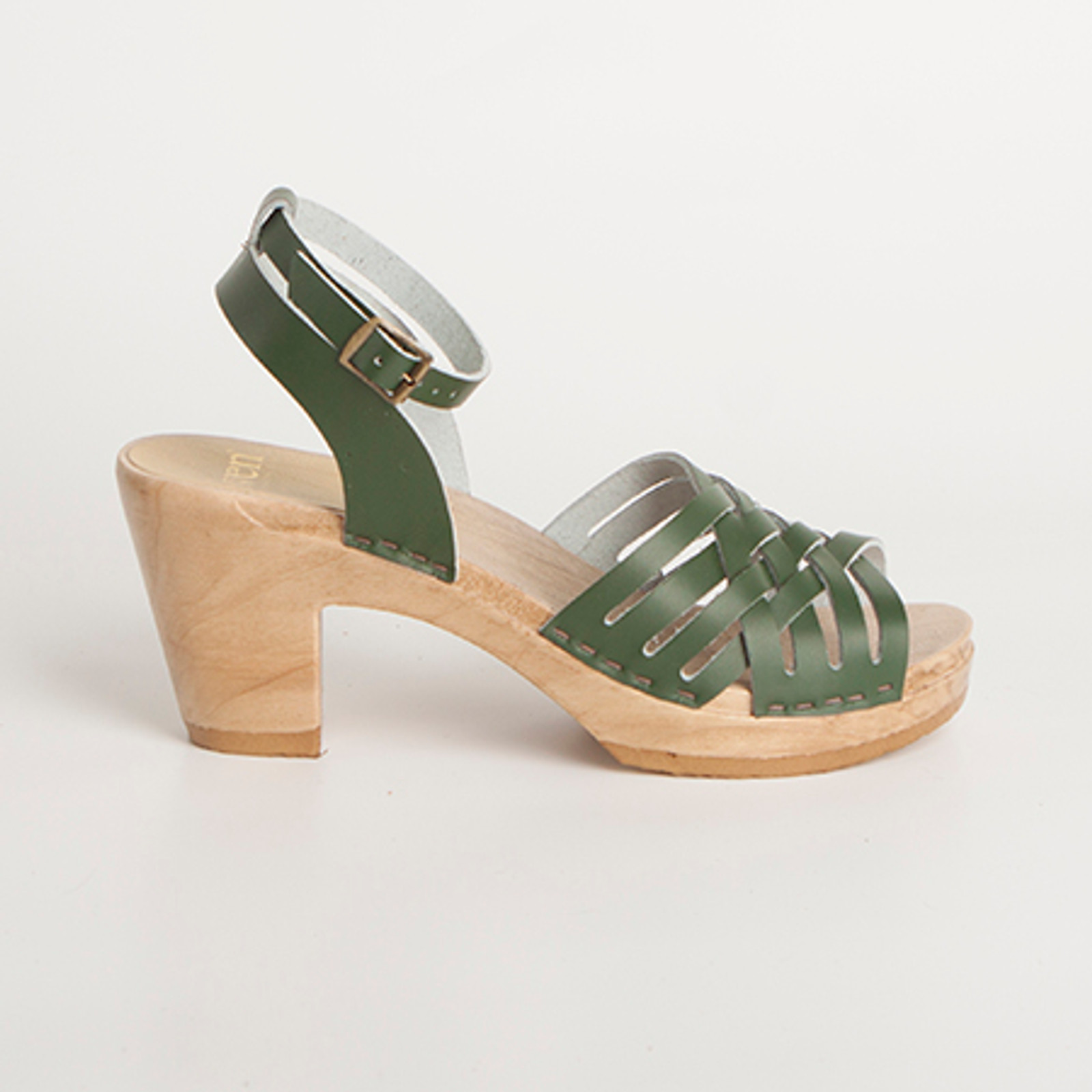 Ankle Wrap Strap - Small Weave Clogs