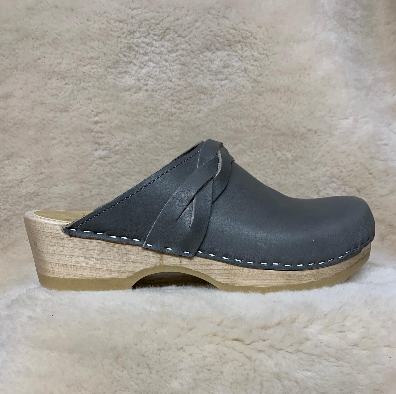 Slate Gray  - Braid Clogs