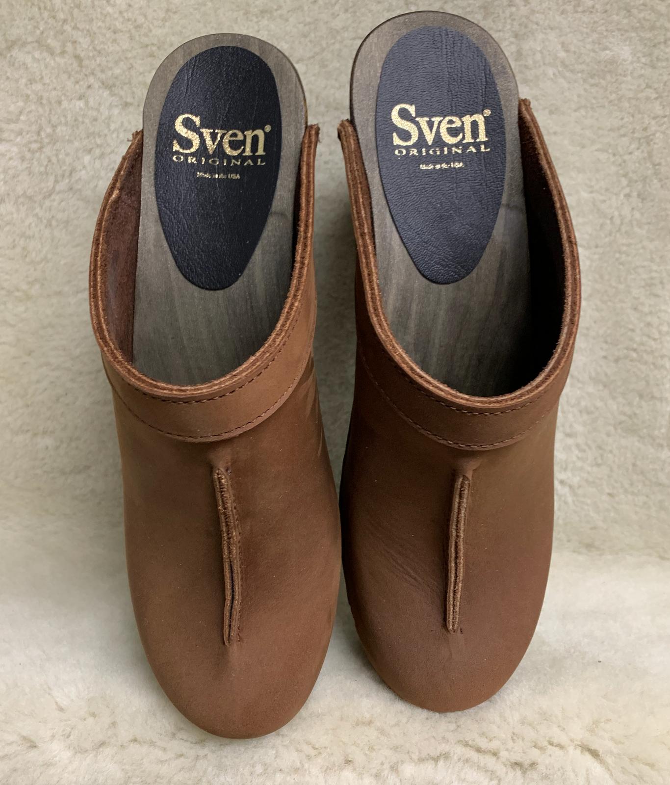 High Heel Wedges - Front Seam Clogs