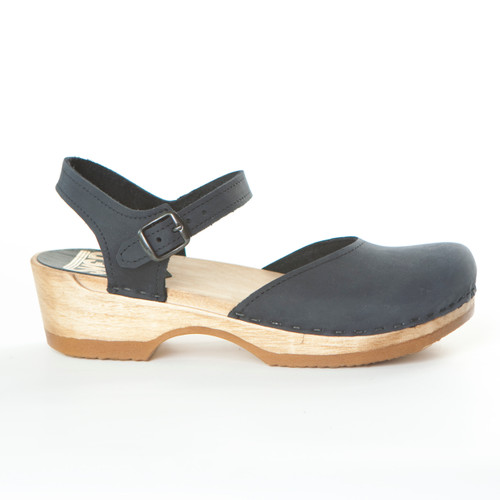Mary Jane  - Sandal Clogs - Low Heels