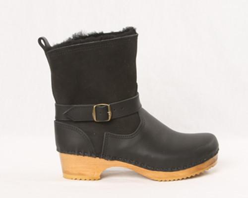 """7"""" Shearling Clog Boots - Swedish"""