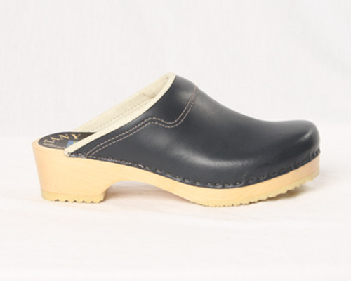 Padded Collar Clogs - Swedish Clogs - Low