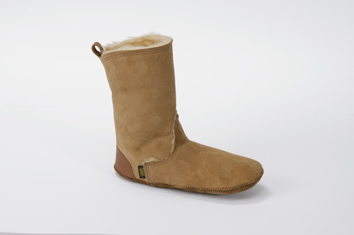 Men's Tall Boot Liners Shearling Slippers