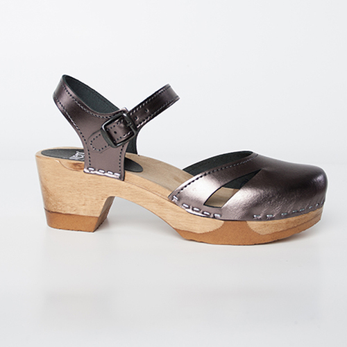Side Slit Sandals - Mid Bendable