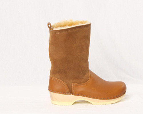 "Men's Clog Boots - 8"" Shearling"