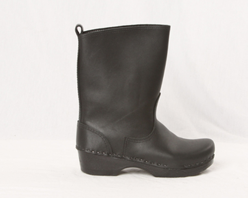 "Men's -  8"" Leather Clog Boots"
