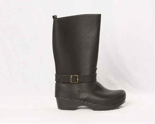 """Men's - 11"""" Leather Clog Boots"""