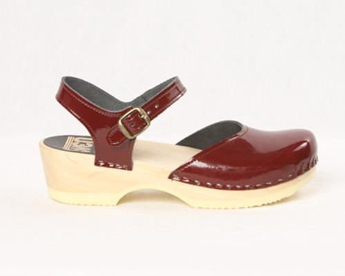 Mary Jane Clogs - Low Heel Bendable