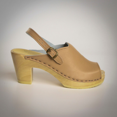 Open Toe Clogs - Sling Straps
