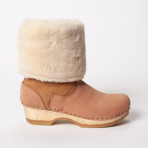 "11"" Cream / Rose - Low Heels"