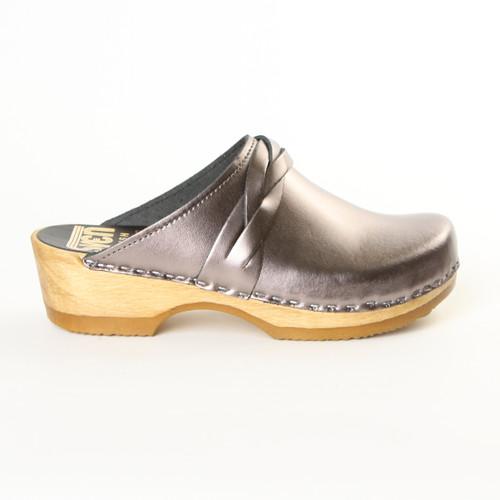 Braid Clogs - Low Heels