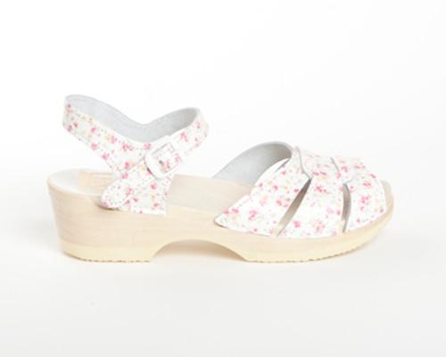 Square Accent - Ankle Strap Sandals