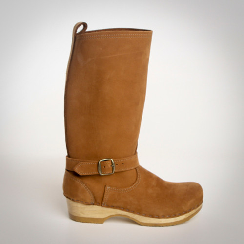 """11"""" Clog Boots - All Leather"""