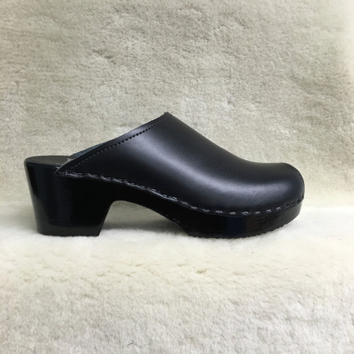 Plain Clogs - Peep Toes  - Black Base Only