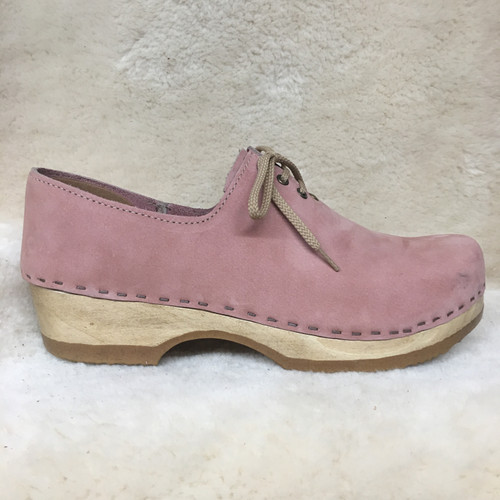 Rose - Tie Clogs - Closed Back Clogs