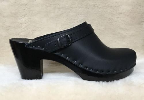 Sling Strap Clogs - High Heels - Black Base Only