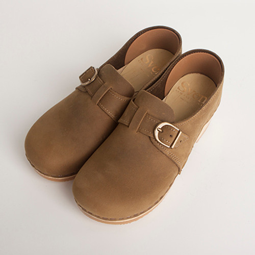 Closed Back Clogs - Adjustable Buckle - Bendable