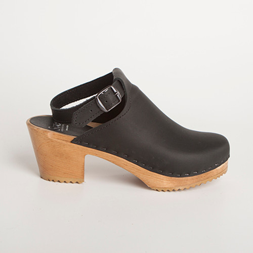 Halter Top Clogs - Closed Toe - Swedish Clogs