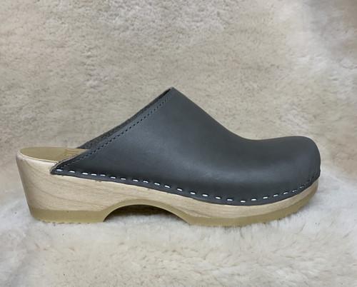 Slate Gray  - Plain Clogs