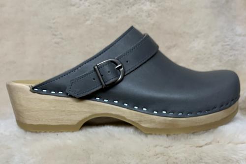 Men's Clogs - Slate Gray  - Sling Strap Clogs