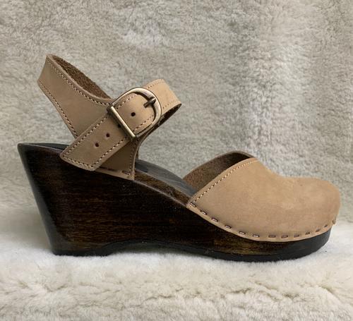 High Heel Wedges - Mary Jane Clogs