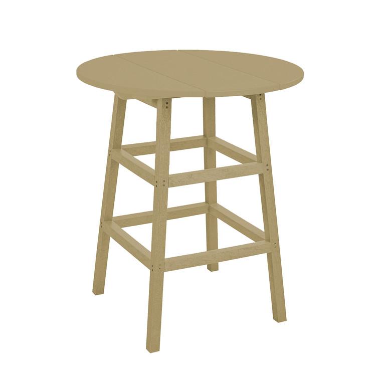 """C. R. Plastics 32"""" Round Pub Table"""