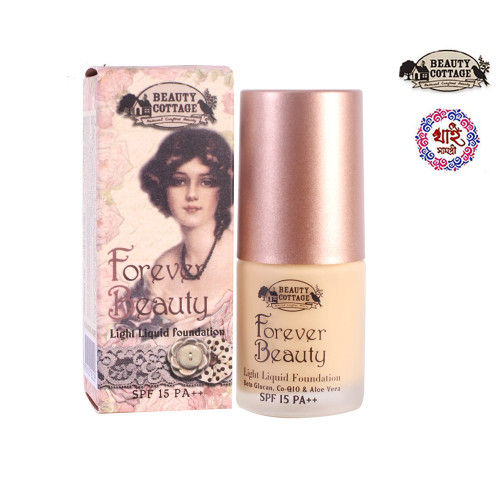 Beauty Cottage Forever Beauty Light Liquid Foundation Spf 15 Pa++ (No.01)