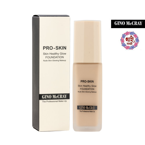 Gino Mccray the Professional Make Up Skin Healthy Glow Foundation (40 Ml)