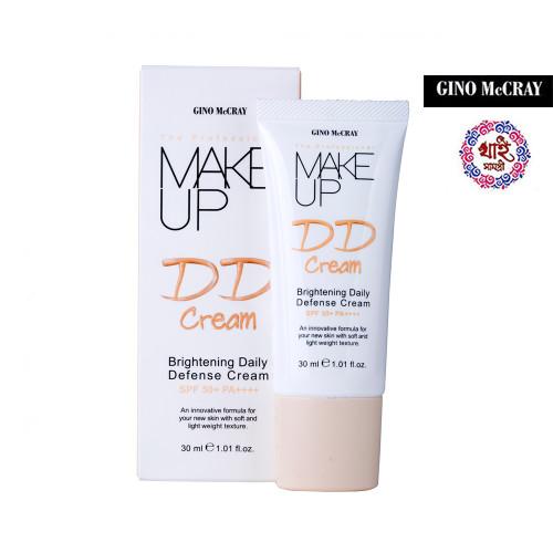 Gino Mccray the Professional Make Up Brightening Daily Defense Cream Spf 50+ Pa++++ (30 Ml)