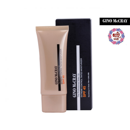 Gino Mccray the Professional Make Up Extreme Control Tinted Moisturizer Spf (45 Ml)