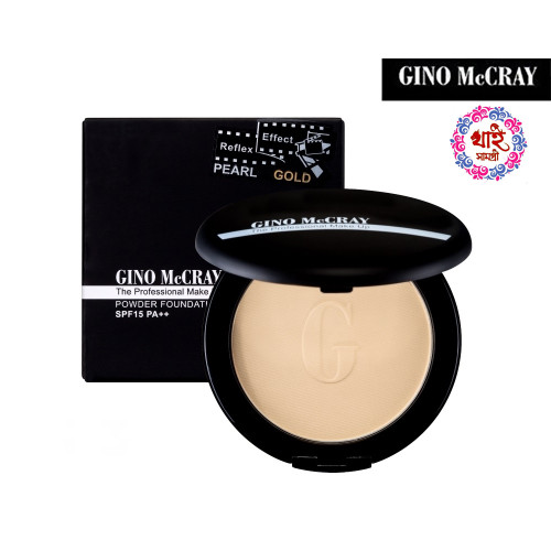 Gino Mccray the Professional Make Up Powder Foundation Spf 15 Pa++ (11 G)