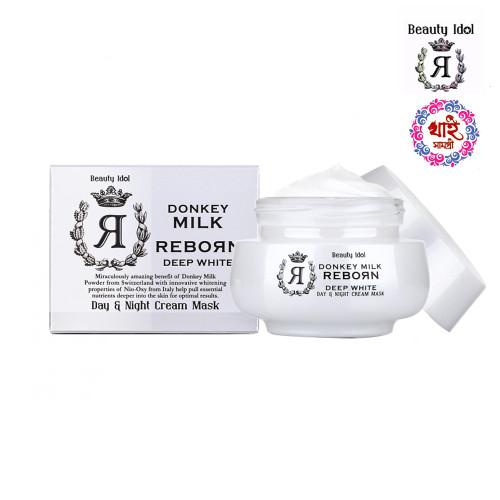 Beauty Idol Donkey Milk Reborn Day & Night Cream Mask